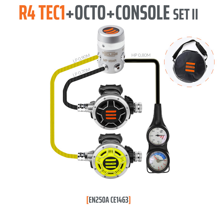 10003-8 - Regulator R4 TEC1 Set II with Octo and 2 Elements Console - EN250A