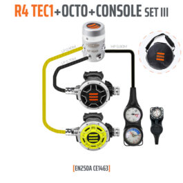 10003-9 - Regulator R4 TEC1 Set III with Octo and 3 Elements Console - EN250A