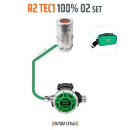 10005-01 - Regulator R2 TEC1 100% O2 M26x2, Stage Set - EN250A