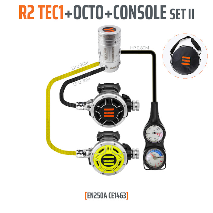 10005-2 - Regulator R2 TEC1 Set II with Octo and 2 Elements Console - EN250A