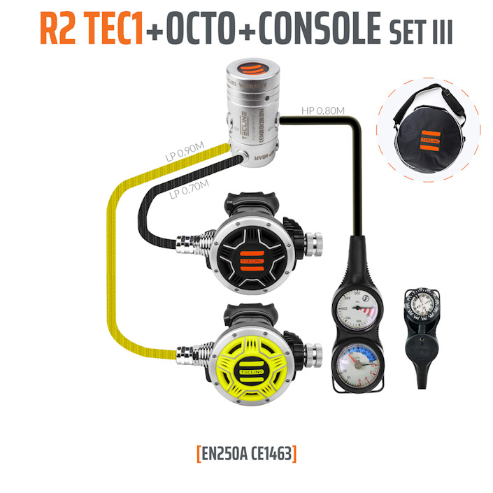 10005-3 - Regulator R2 TEC1 Set III with Octo and 3 Elements Console - EN250A