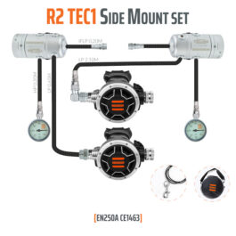 10005-4 - Regulator R2 TEC1 Side Mount Set - EN250A