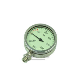 SPG S-Tech 300 Bar 63mm Nickel - Gauge Only
