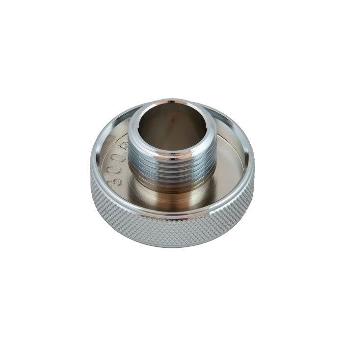 Din Wheel For R 2 ICE / R 2 Special / R 5 ICE / V 2 / V 2 Mono / R 5 TEC I-st Stages - Chromed Brass