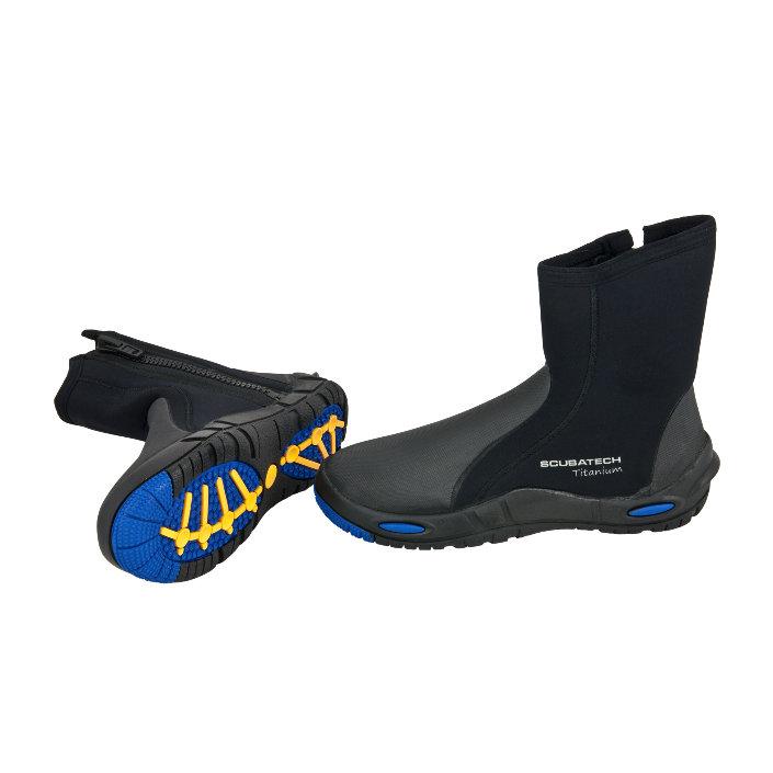 Boots Neoprene Comfort - Titanium 7 mm