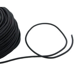 Bungee 6 mm - Black