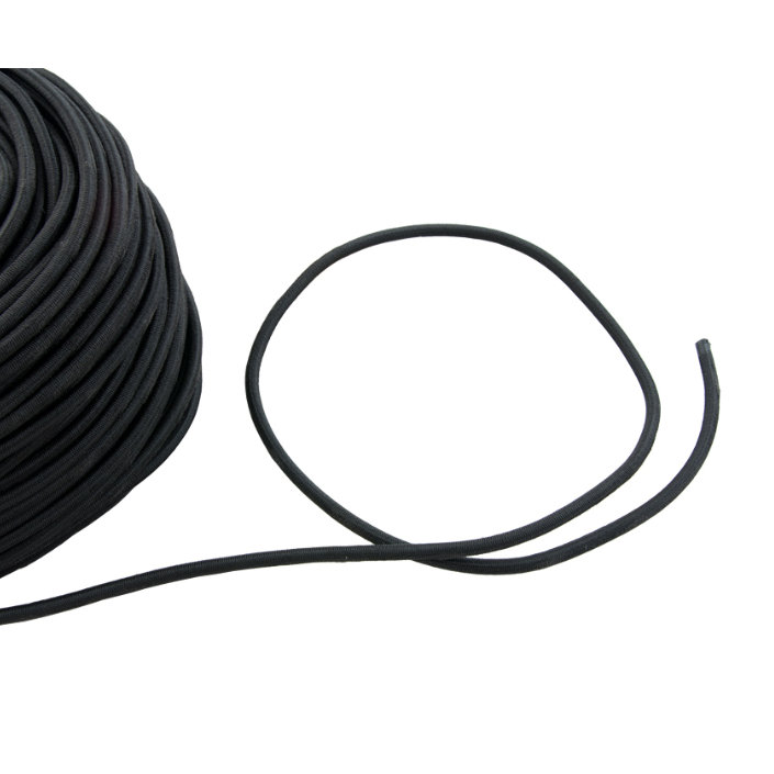 Bungee 6 mm - Black
