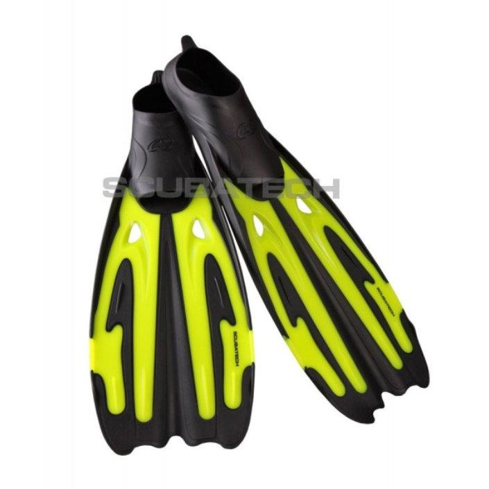Fins Full Foot Tiara 2 - Neon Yellow