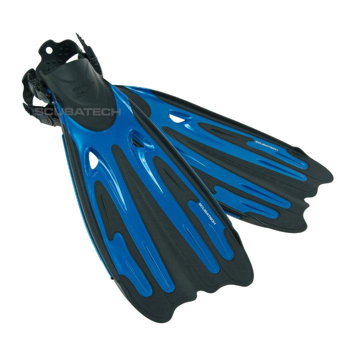 Fins Tiara Pro - Metal Navy Blue