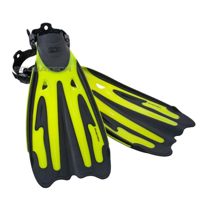 Fins Tiara Pro - Neon Yellow