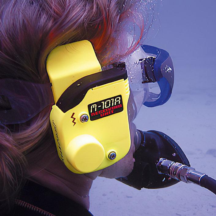 M 101A G-divers, receive-only unit