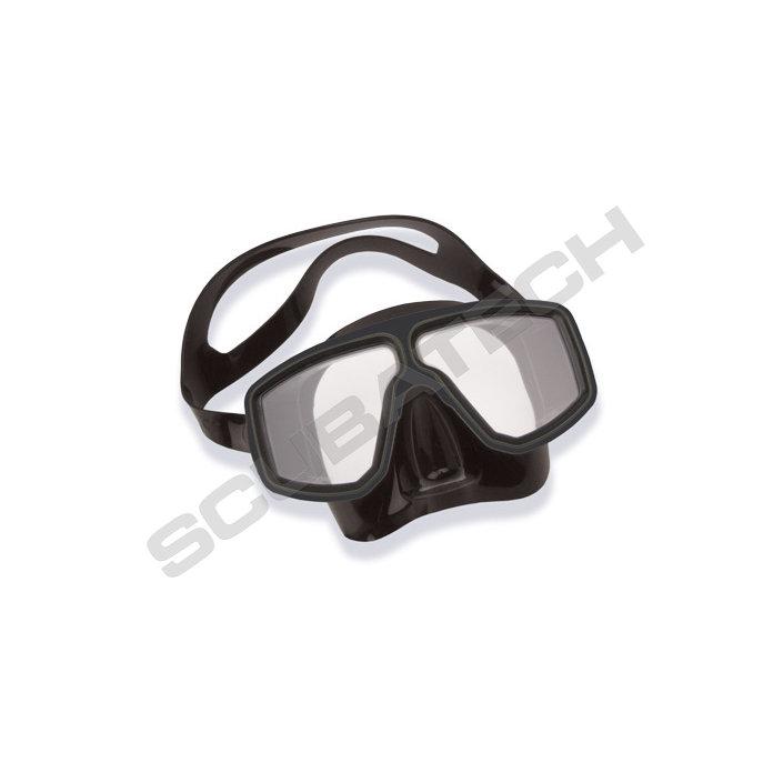 Mask Corsica Black Silicone Black Frame