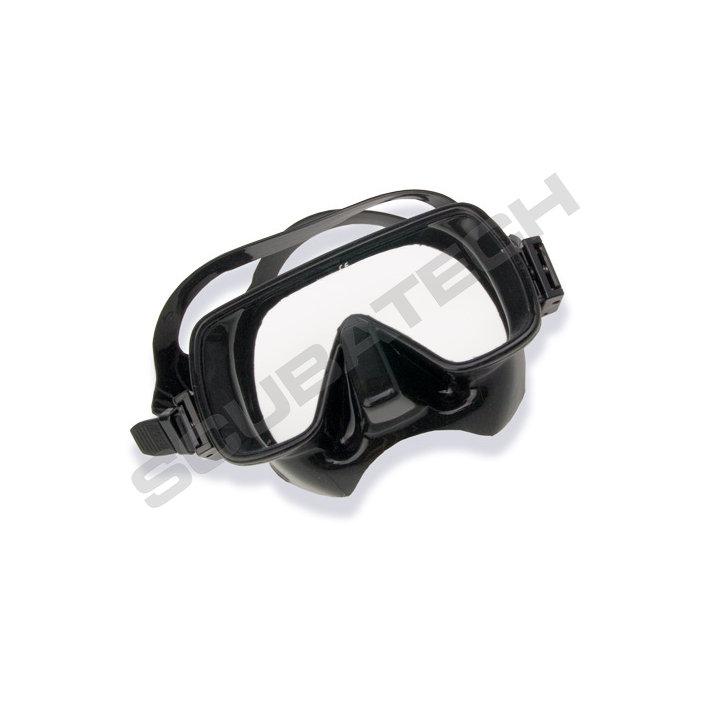 Mask Frameless Classic Silicon Black