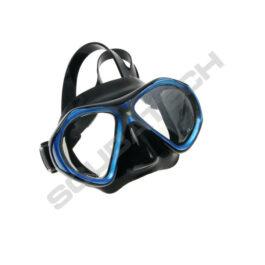 Mask Viper Black Silicone Blue Frame