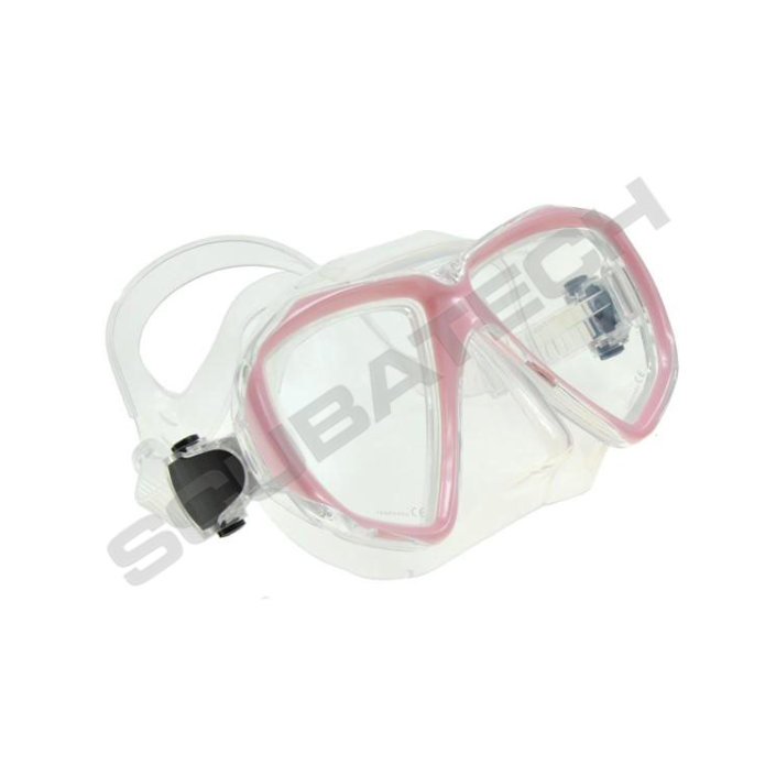 Mask Viper Clear Silicone Pink Frame
