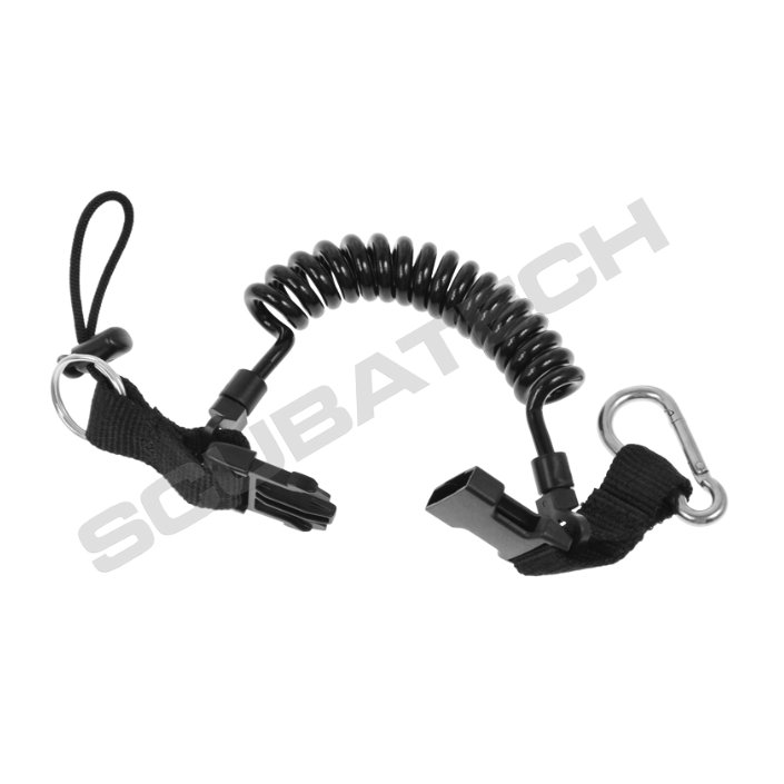 Retractor Spring + Stainless Snap-Hook