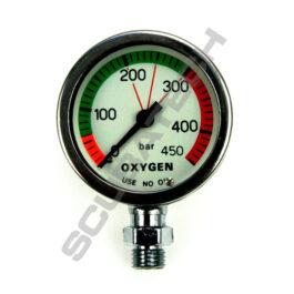 SPG S-Tech O2 450 bar 52 mm chrome - gauge only