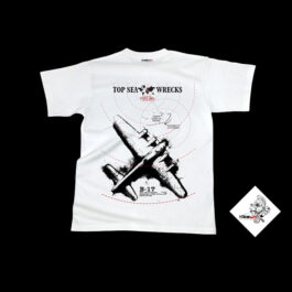 T04054-02 - T-Shirt Tecline B-17 - White