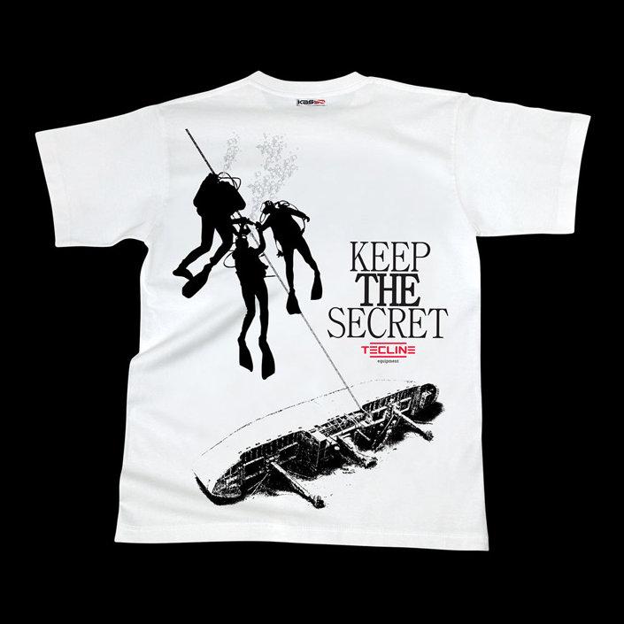 T-Shirt Tecline Secret White