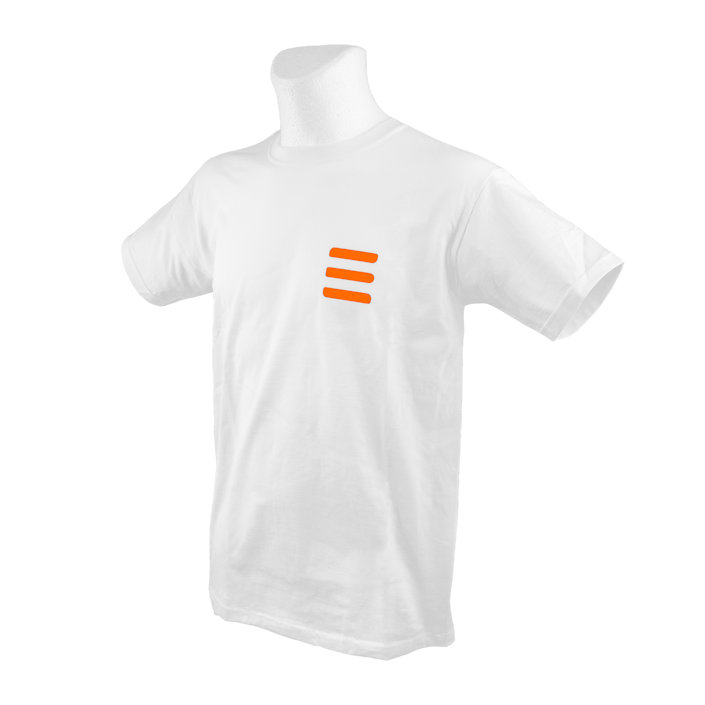T-Shirt Tecline Fruit Of The Loom White