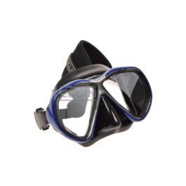 Tecline Tiara Mask + Neoprene Strap Black Silicone Blue Frame