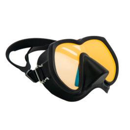 Tecline Frameless Super View Mask Brightening Yellow Glass Black