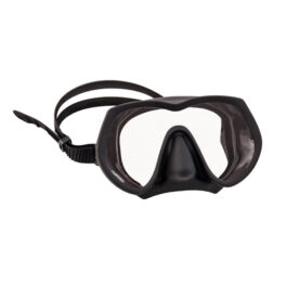 Tecline Frameless Super View Mask Black Asia Fit