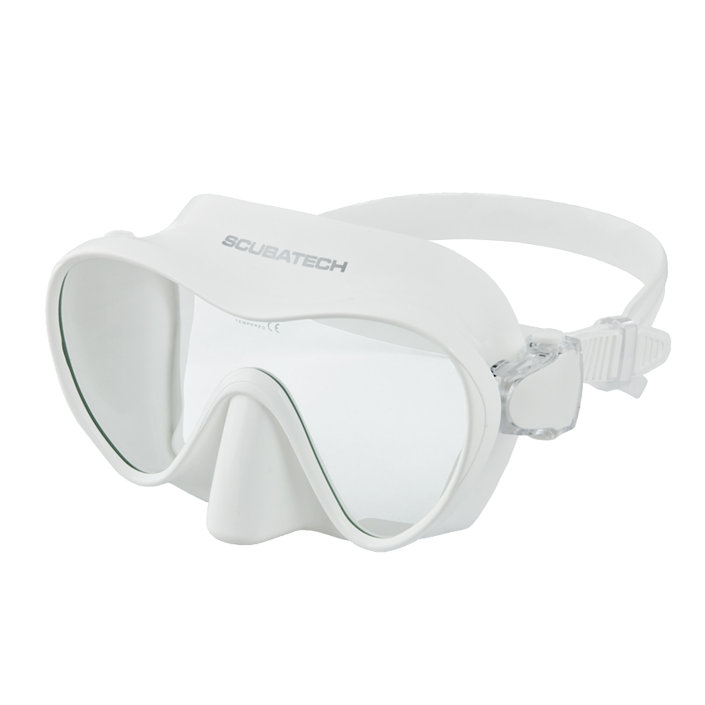 Tecline Frameless View Mask White