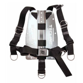 Harness Tecline QR + 3mm SS Backplate