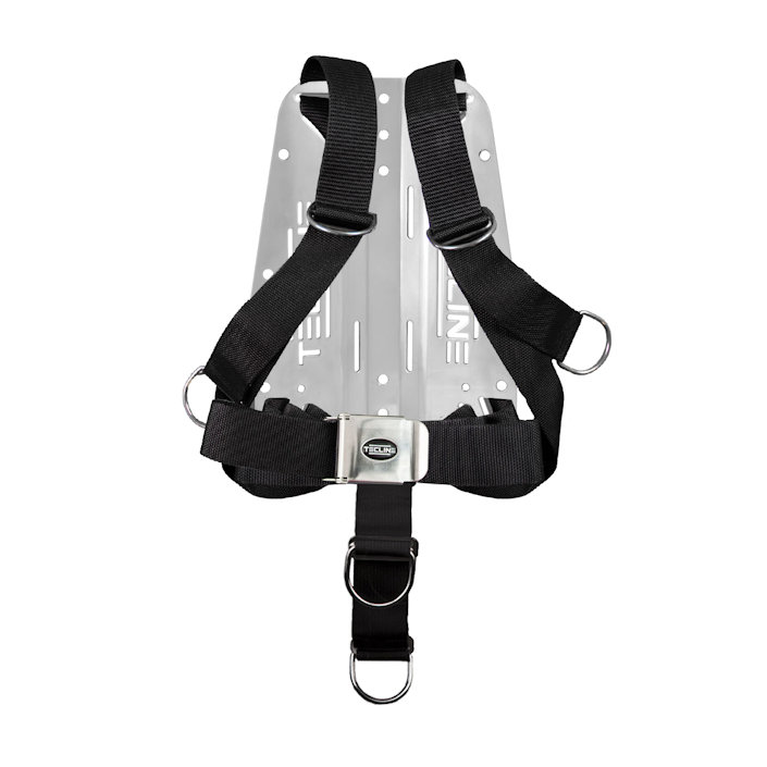 Harness Tecline Comfort Eco + 3mm Stainless Steel Backplate