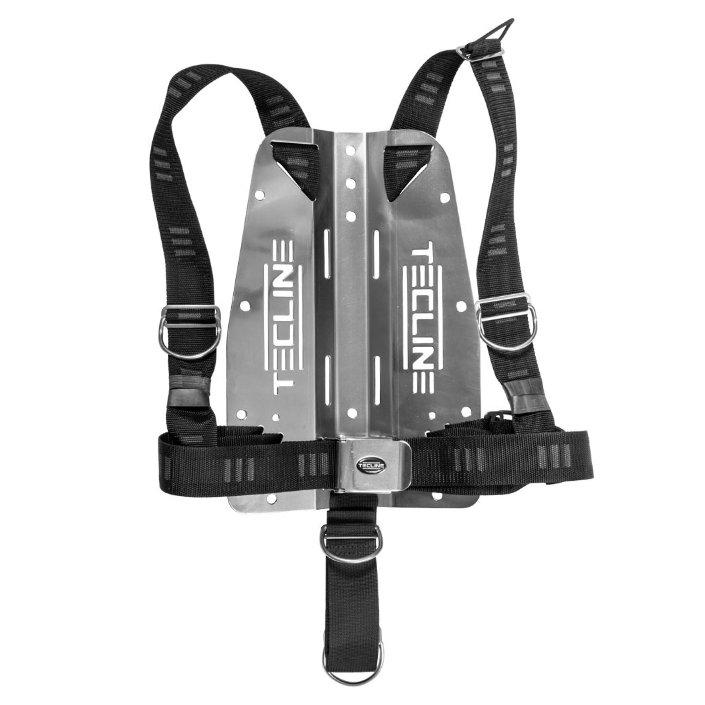 "Harness Tecline Dir Soft Webbing ""E"" + 3mm Aluminium Backplate - 1,345kg"