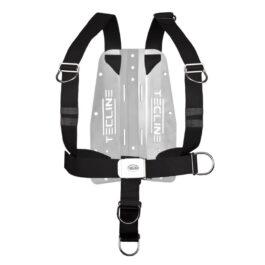 Harness Tecline Dir Standard Webbing + 3mm Aluminium Backplate - 1,345kg