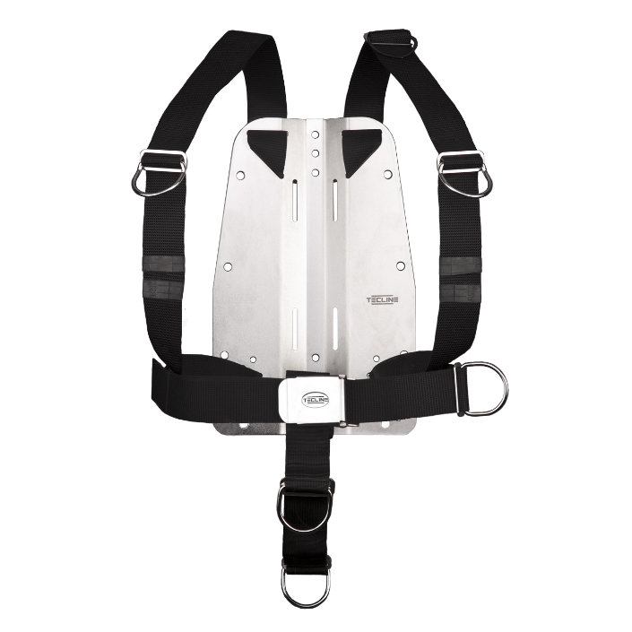 Harness Tecline Dir Adjustable Standard Webbing + 6mm Stainless Steel Backplate