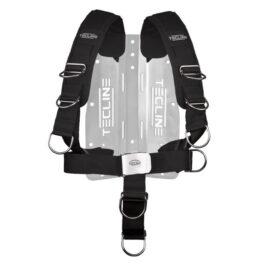 Harness Tecline Comfort Adjustable + Aluminium Backplate - 1,65kg