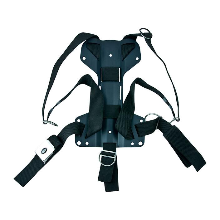 Harness Tecline Dir + 3mm Aluminium Backplate H - 1,27kg