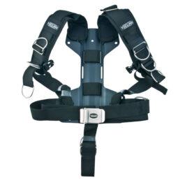 T15040 - Harness Tecline Comfort + 3mm Aluminium Backplate H - 1,54kg