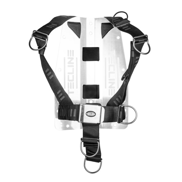"Harness Only Tecline Dir Soft Webbing ""E"" - Movable D-Rings"