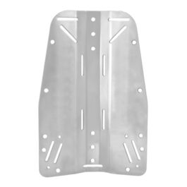 Stainless Steel Backplate 3mm 2,1kg - No Logo
