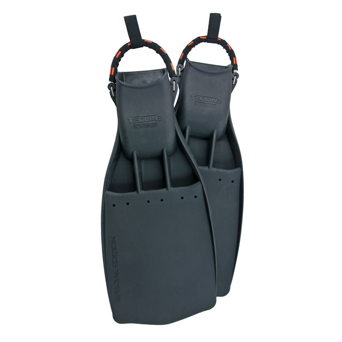 Rubber Fins Powerjet With Stainless Steel Spring Straps