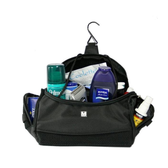 Travel bag, black, Large