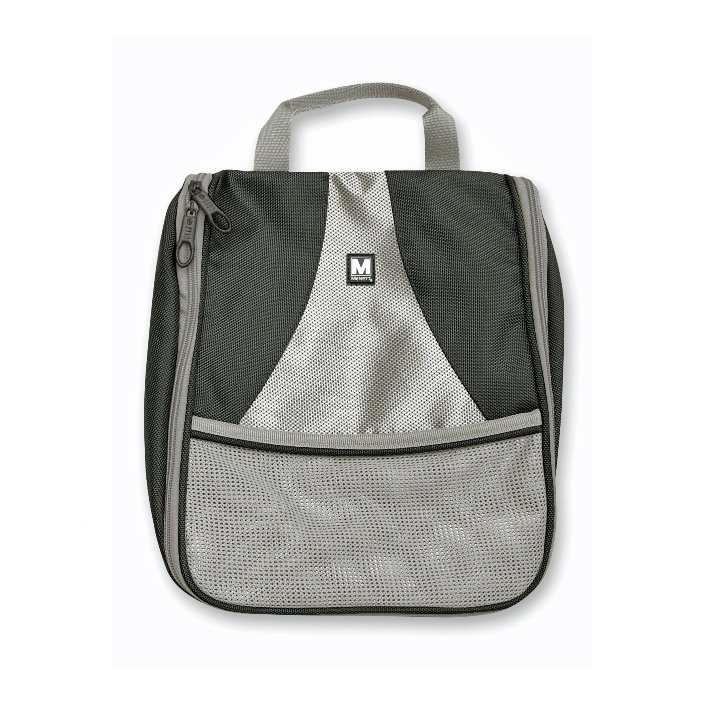 Travel bag black-grey medium