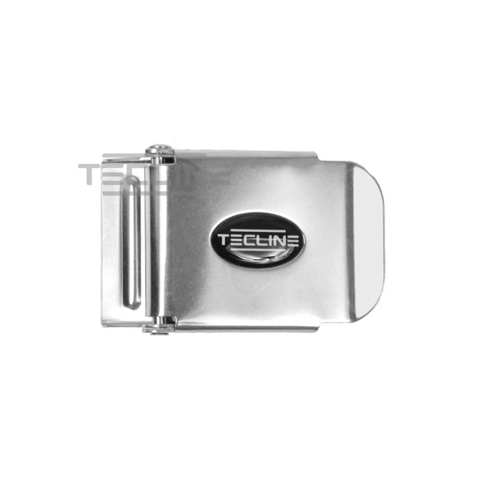 SS Belt Buckle 50mm With Tecline Logo