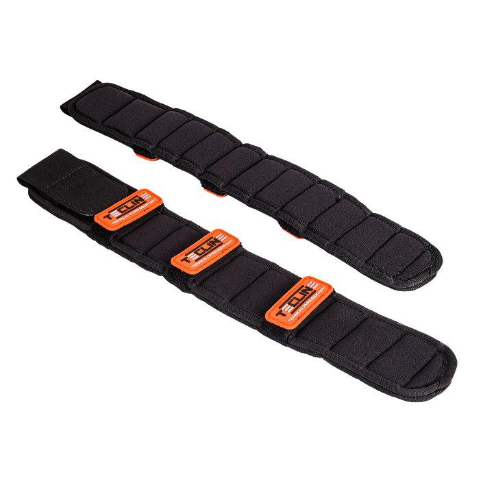 Shoulder Pad With Orange Tecline Logo