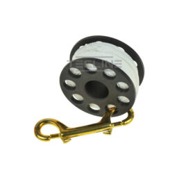 Spool 30m + Brass 100mm Snap