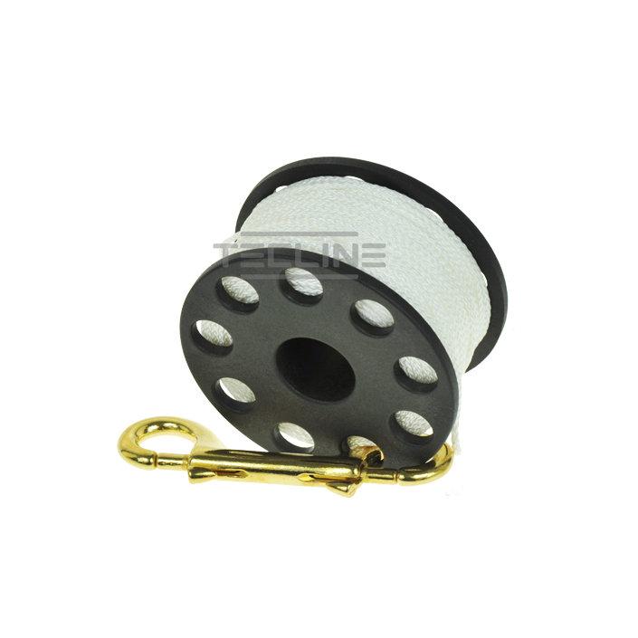 Spool 45m + Brass 100mm Snap