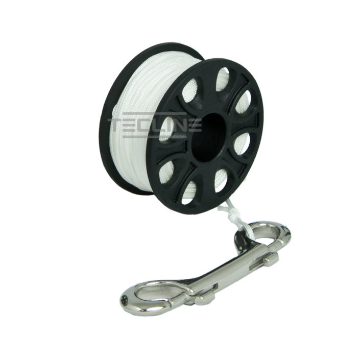 Spool 30m With Stainless Steel 100mm Snap