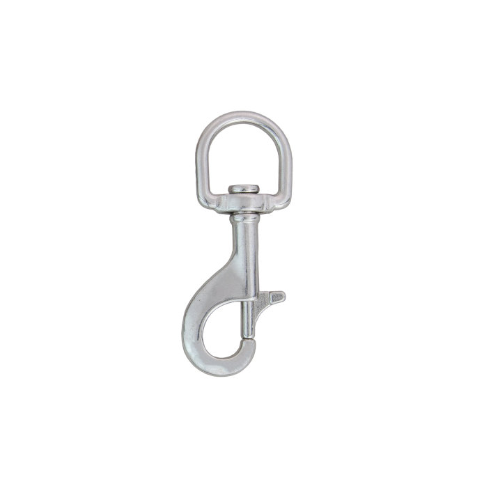 "Stainless Steel Bolt Snap 88mm ""D"" Type Eye"