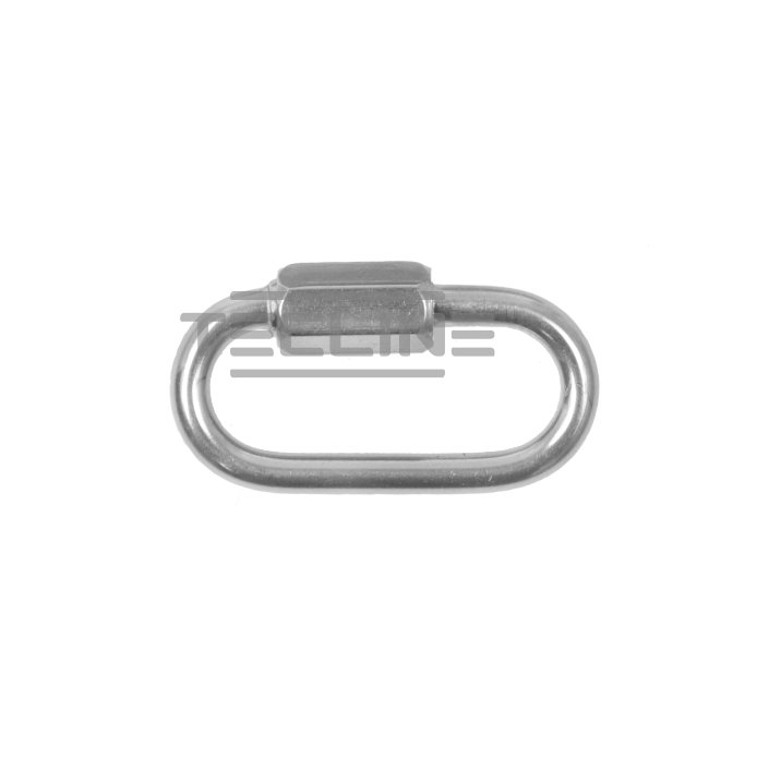 Stainless Steel Oval Snap With Nut 40mm