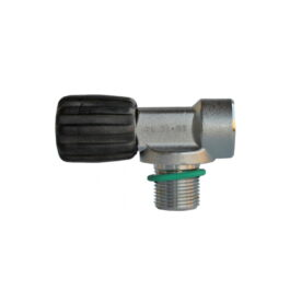 Mono Valve M25x2 232 Bar For Rebreather - Viton