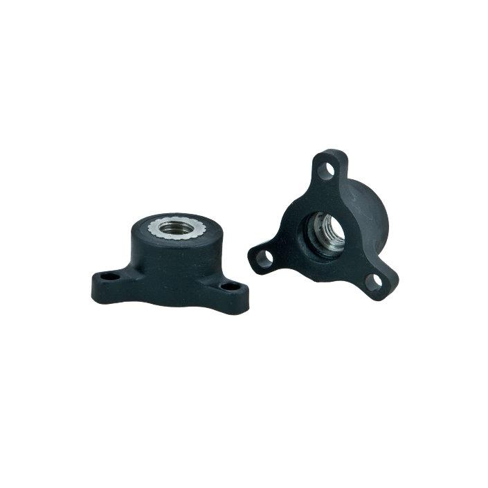 Thumbwheels Derlin M8x1,25 - 2 Pcs